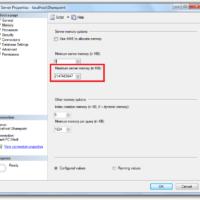Sql Server Memory
