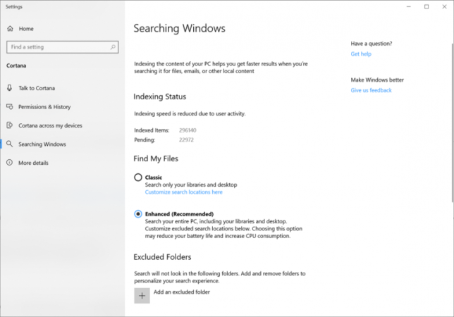 Enhanced Windows Search